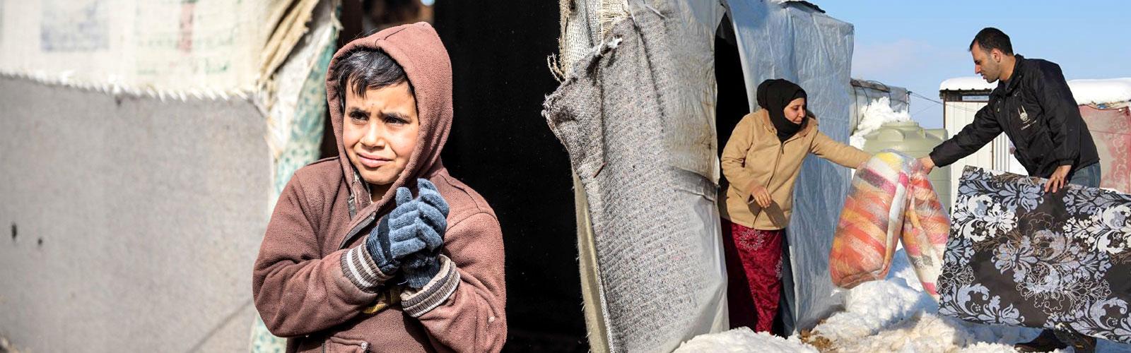 Winterhilfe für Flüchtlinge - jetzt spenden!
