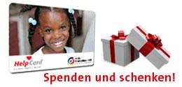 Helpcard, Weihnachten