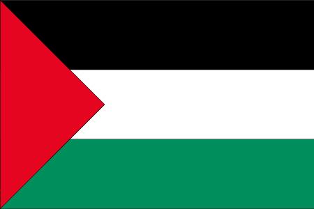 Flagge Gazastreifen