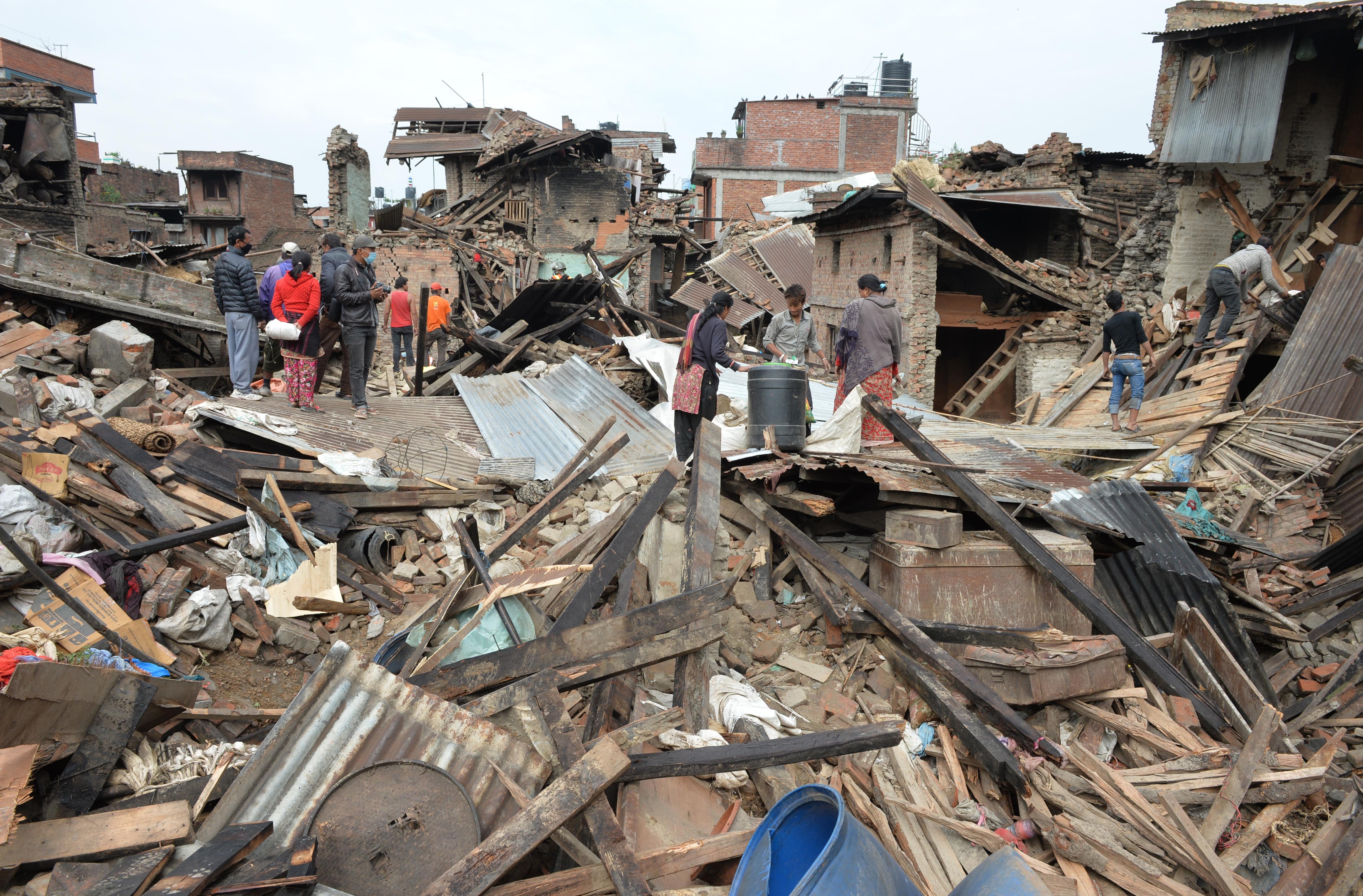 Erdbeben Die Begegnung Mit Der Angst Aktion Deutschland Hilft