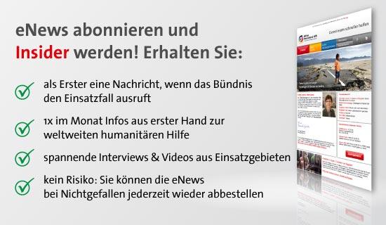 jetzt zum newsletter anmelden aktion deutschland hilft. Black Bedroom Furniture Sets. Home Design Ideas