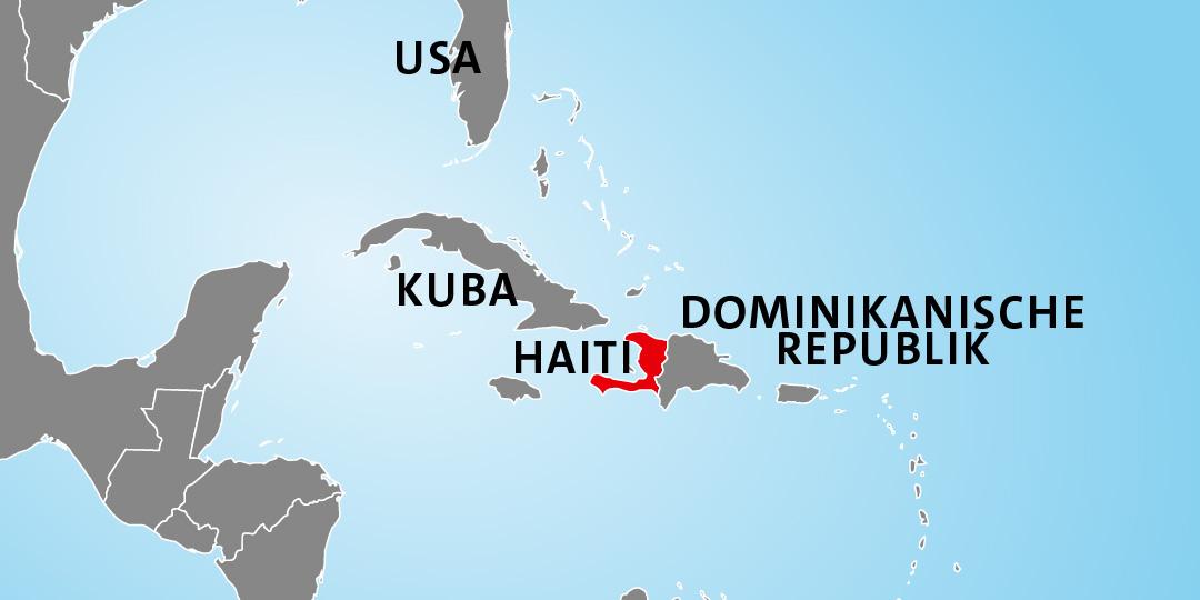 Einsatzgebiet Erdbeben Haiti