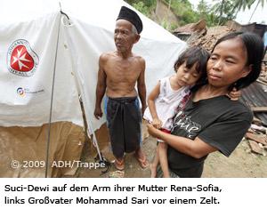 Erdbeben Indonesien  Rena-Sofia